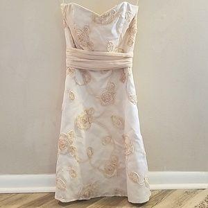 WHBM Blush Cocktail/Formal Dress